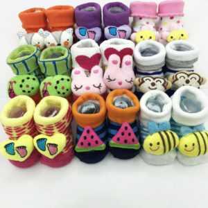 1216. Носки для новорожденных Fute 361