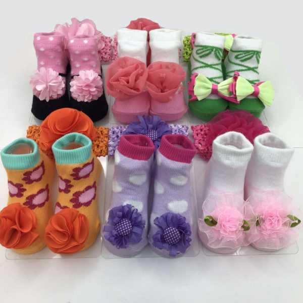 1226. Носки для новорожденных Fute 362