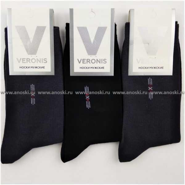 1259. Носки мужские хлопковые Veronis M0-1