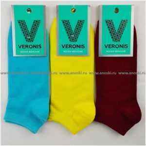 1248. Носки женские короткие Veronis C9A1